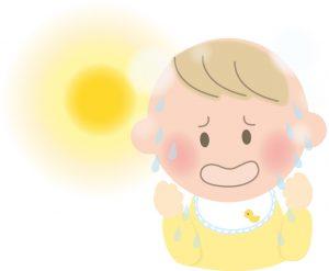 熱中症乳幼児